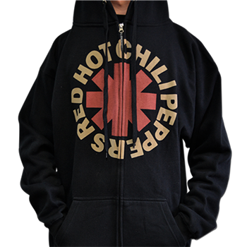 Buy Asterisk Zip Hoodie by Red Hot Chili Peppers