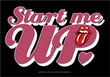 Buy Start Me Up Flag by Rolling Stones