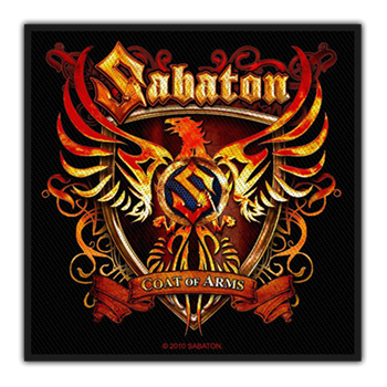 Sabaton Coat Of Arms Patch