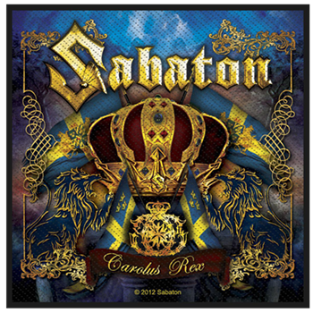 Buy Carolus Rex Patch by Sabaton