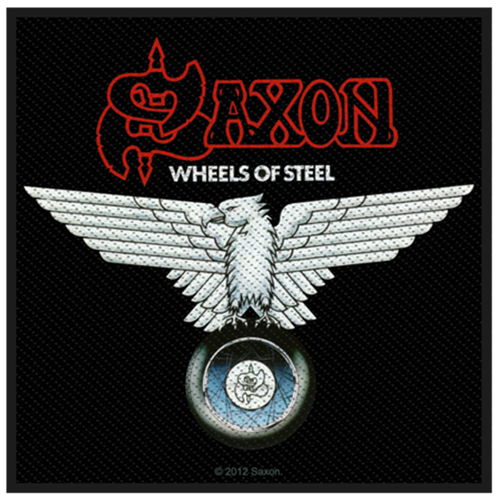 Wheels Of Steel Patch