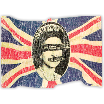Sex Pistols God Save The Queen Postcard