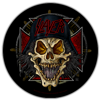 Slayer Wehrmacht Circle Patch