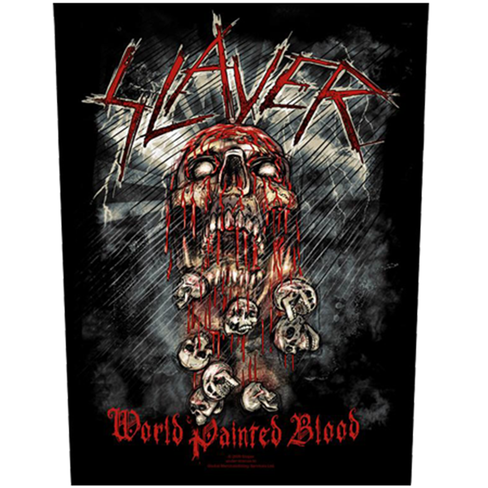 World Painted Blood Backpatch
