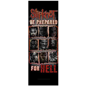 Buy Be Prepared For Hell Flag by Slipknot