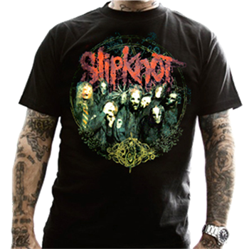 Slipknot Blur Frame Group T-Shirt