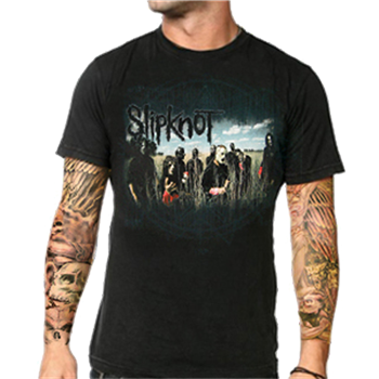 Slipknot Earth And Sky Group T-Shirt