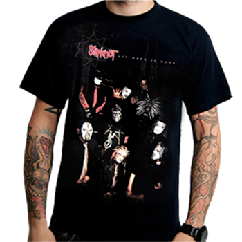 Buy Jumbo Sepia Allover T-Shirt by Slipknot