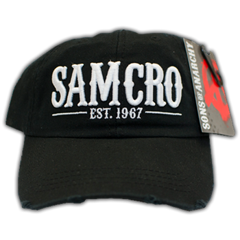 Sons Of Anarchy SAMCRO Snapback Hat