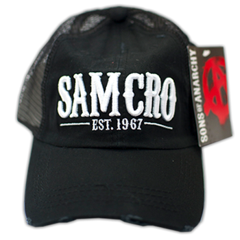 Sons Of Anarchy SAMCRO Trucker Hat Hat