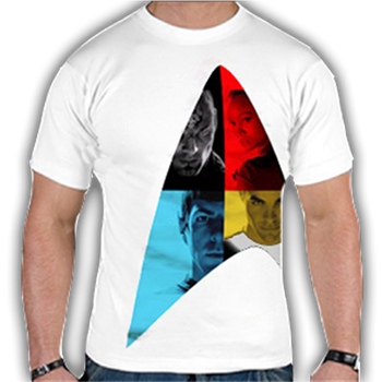 Buy Color Logo T-Shirt by Star Trek
