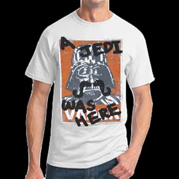 Star Wars Stache White T-Shirt