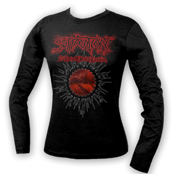 Buy 20 Years Spike Longsleeve Shirt by Suffocation