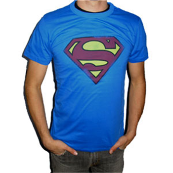 Buy Small Logo Royal Blue T-Shirt by Superman