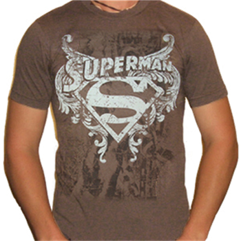 Buy Logo Over Chains T-Shirt by Superman