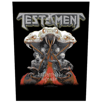 Testament Brotherhood Of The Snake Backpatch