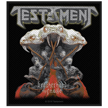 Testament The Brotherhood Of The Snake Patch