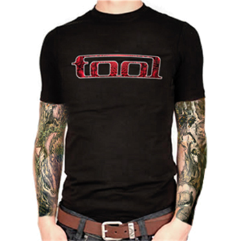 Buy Red Pattern T-Shirt by Tool