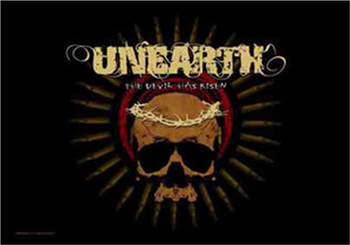 Buy The Devil Has Risen Flag by Unearth
