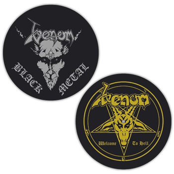 Venom Welcome To Hell / Black Metal Slipmat Set