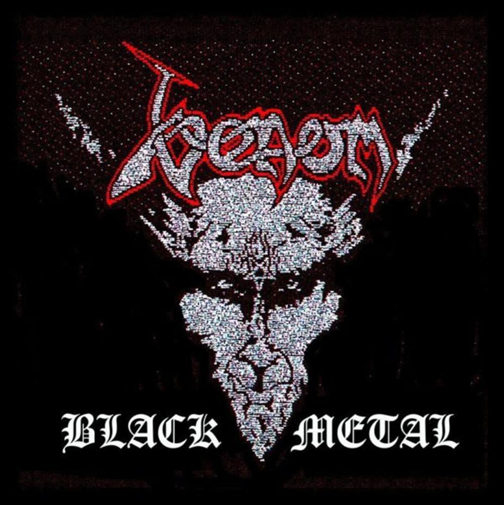 Black Metal Patch