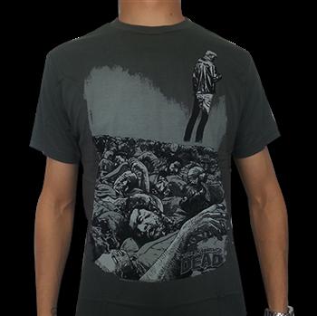 Buy Comic Book Artwork T-Shirt by Walking Dead (the)