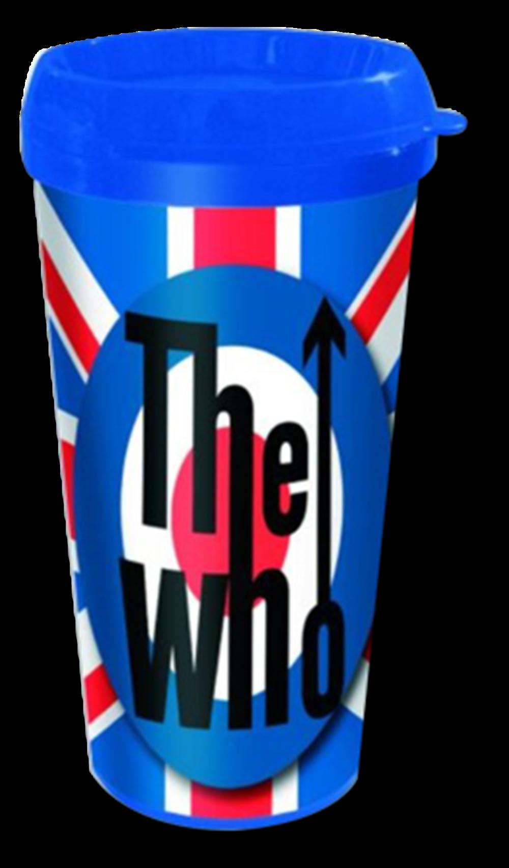 UK Flag and Target Travel Mug
