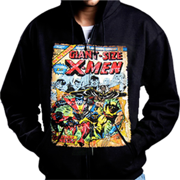 X-MEN Comic Cover Zip Hoodie