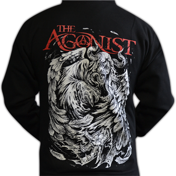 Buy Demon Back Zip Hoodie by The Agonist