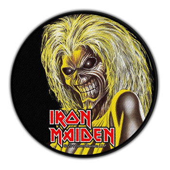 Iron Maiden Killers (Round) Patch