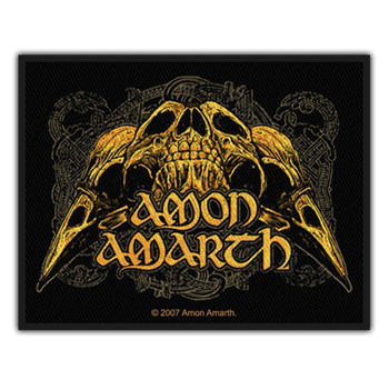 Buy Raven Skull Patch by Amon Amarth
