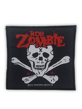 Rob Zombie Skull & Bones Patch