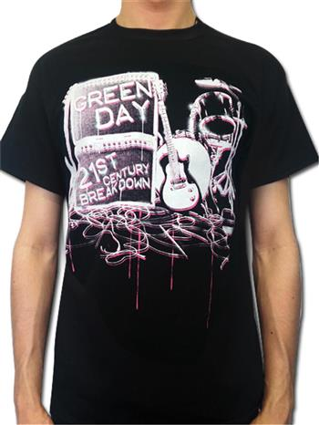 Buy Sessions T-Shirt by Green Day