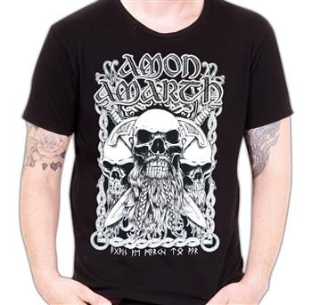 Buy Bearded Skull (Import) T-Shirt by Amon Amarth
