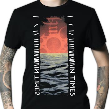 Buy In Time Seascape T-Shirt by Enslaved