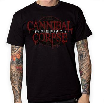 Buy 25th Anniversary / 2013 Tour T-Shirt by Cannibal Corpse