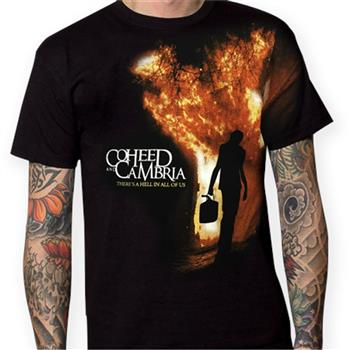 Buy Gasoline Hell T-Shirt by Coheed And Cambria