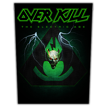 Overkill The Electric Age Backpatch