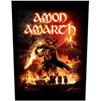 Amon Amarth Sutur Rising Backpatch