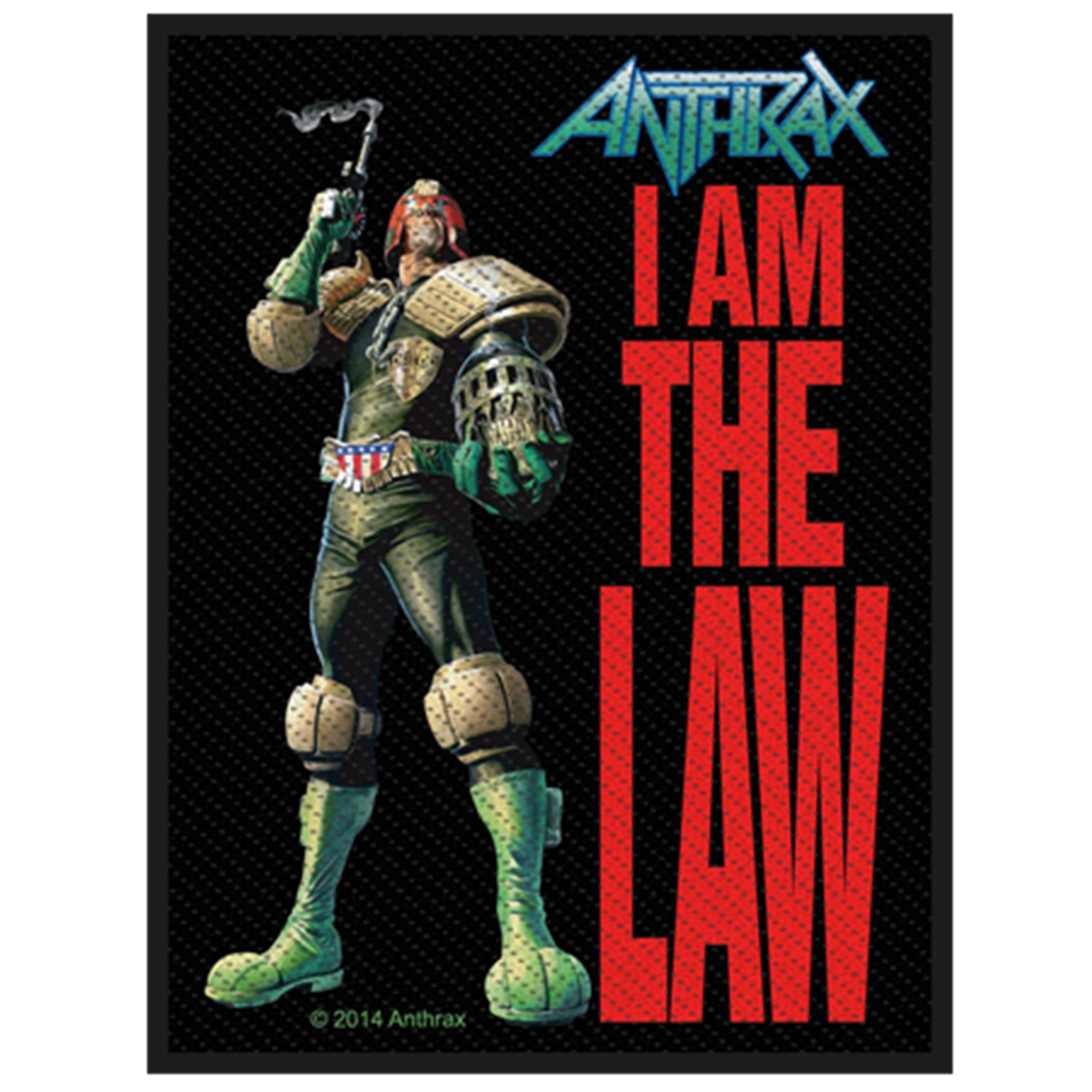I Am The Law Patch