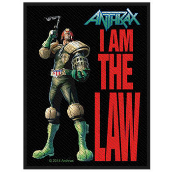 Anthrax I Am The Law Patch