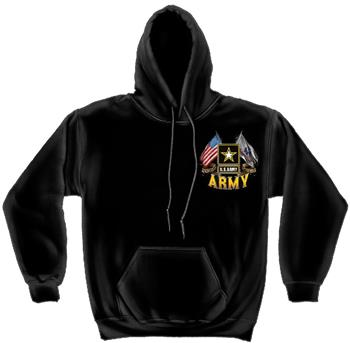 Buy ARMY DOUBLE FLAG US ARMY by Erazor Bits