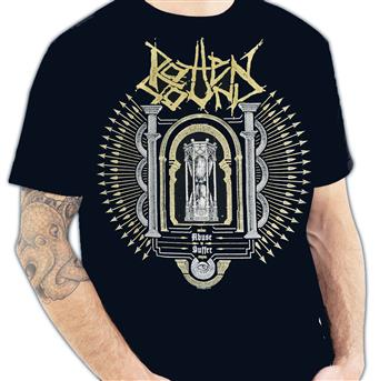 Buy Logo/Hourglass T-Shirt by Rotten Sound