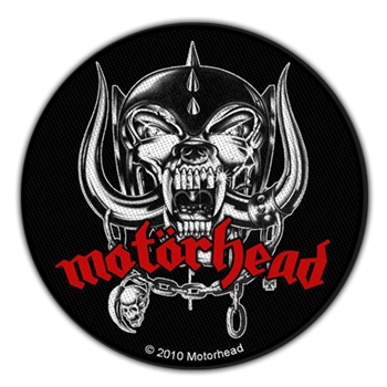 Motorhead Snaggletooth Logo Patch