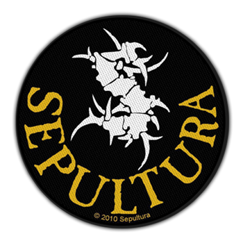 Buy Tribal S Round Patch by Sepultura