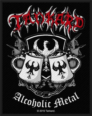 Tankard Alcoholic Metal Patch