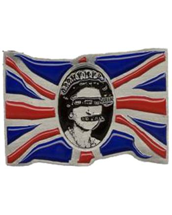 Sex Pistols Flag Buckle