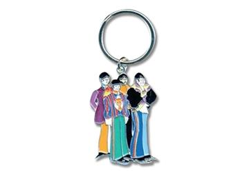 Beatles Sgt. Pepper Characters Keychain
