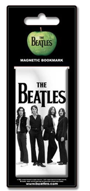 Beatles Black & White Standing (Bookmark Magnet) Magnet