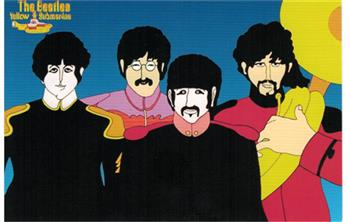 Buy Sgt. Pepper Cartoon (Postcard) by Beatles
